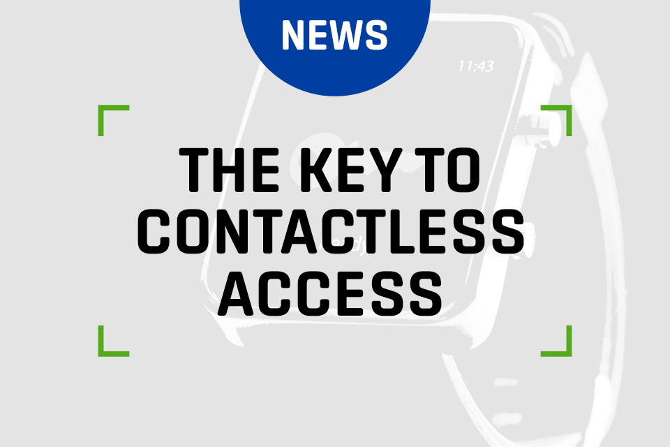 The key to contactless access