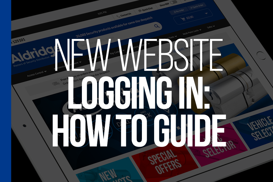 Logging in: How to Guide