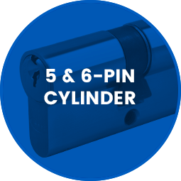 Asec 5 and 6 Pin Cylinder