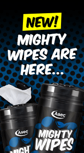 New Asec Mighty Wipes