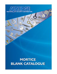 Download Aldridge Mortice Blank Catalogue
